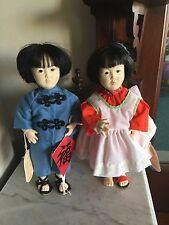 Effanbee Little Tiger Doll Orange Blossom Joyce Stafford Asian Boy Girl Dolls