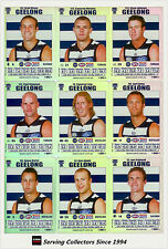 2008 AFL Teamcoach Trading Card Silver Team set Geelong (11)