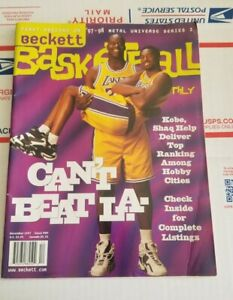 DEC 1997 BECKETT BASKETBALL CARD MAGAZINE KOBE BRYANT SHAQ CAN'T BEAT LA