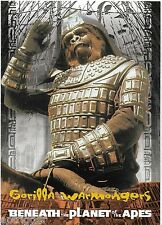1999 Inkworks PLANET of the APES (70) Gorilla Warmongers