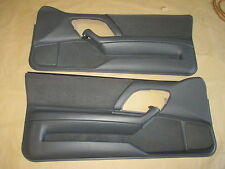 93-95 Camaro Z28 Door Panels Gray/Graphite Cloth PW LH RH Pair 0715-1