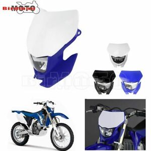 Motorcycle Off Road Headlight For Yamaha Honda WR 450 250 YZ Enduro Supermoto