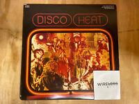 """Various - Disco Heat (2xLP, 12"""" Vinyl Comp, Mixed)"""