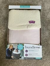 JJ Cole Bundleme - Thermaplush Infant Car Seat/Stroller Cover NEW IN BOX