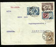 ARGENTINA 1928 AIR COVER TO GERMANY (HAMBURG) GOOD FRANKING