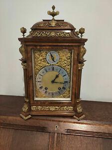 Lenzkirch Bracket clock brass decorations