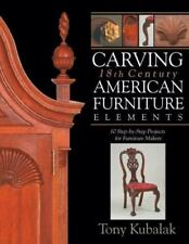 Carving 18th Century American Furniture Elements : 10 Step-by-Step Projects...