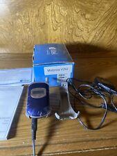 Vtg Motorola Alltel V262 blue flip cell phone Manual