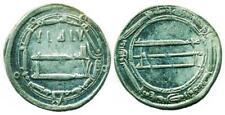 ABBASID: Harun al-Rashid, AR dirham, Madinat al-Salam 175 Extra Margin VERY RARE