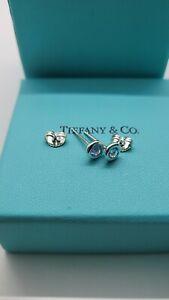 Tiffany & Co. Elsa Peretti Color By The Yard Aquamarine Stud Earrings