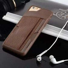 """Wallet Card Holder Slim PU Leather + TPU  Case Cover for iPhone 6/6s 4.7"""""""