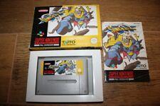 Jeu Sonic Blast Man pour console Super Nintendo SNES en boite complet