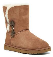 UGG Australia Briana Genuine Sheepskin Chestnut Boot 100% Authentic Size 7 NIB