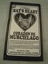 Bats Heart Talisman Spell Supplies Spells charm bag luck herb Protection mojo