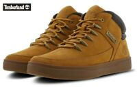 Timberland Davis Square Mid Hiker Wheat Nubuck Boots Shoes UK 9.5 EU 44 RRP £115