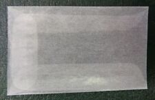 "# 1 size Glassine envelope Extra small 1 3/4"" x 2 7/8""  75 count JBM31"