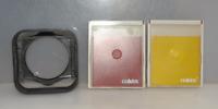 Cokin Filter - Halterung M 77 mit Filter Gelb und Rot