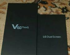 LG V60 THINQ 5G Mobile Phone LM-V600EA 256GB + Dual Screen Bundle