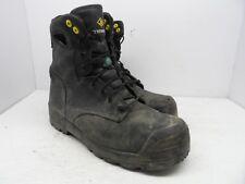 "Terra Men's 8"" Paladin Composite Toe Composite Plate Work Boot Black Size 10.5M"