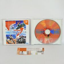 Dreamcast SEGA EXTREME SPORTS Spine * Sega dc