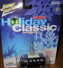 JOHNNY LIGHTNING   HOLIDAY  CLASSIC  ORNAMENTS : '65 VW  21-WINDOW  BUS yr.2002