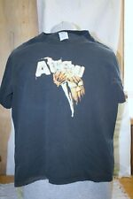 VINTAGE ATREYU BLOODY FIST WITH KNIFE T SHIRT METAL ROCK BAND SIZE S