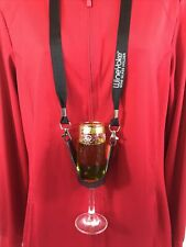 Wine Yoke Glass Holder, Wine Party Time Hands Free Wine Glass Holder Necklace