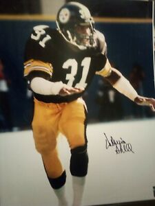 STEELERS SIGNED 16 X 20 DONNIE SHELL HCS COA