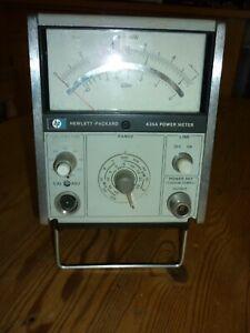 Hewlett Packard 435A Power Meter - RF Tester