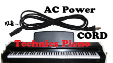 AC Power Cord Cable Technics SX-PX228B SX-PX222/M SX-PX226/M DIGITAL Piano Plug