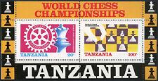 Mint Never Hinged/MNH Chess Tanzanian Stamps