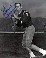 John Huarte Heisman 64 Notre Dame Signed 8x10 Autographed Photo Reprint