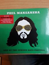 PHIL MANZANERA Live At The Curious Arts Festival 2017 CD album NEW/SEALED