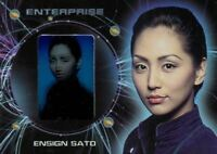 Star Trek Enterprise Season 2 First Contact Chase Card F18