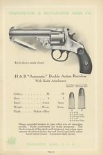 Harrington & Richardson Arms 1908 Catalog