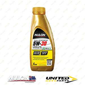 NULON Full Synthetic 5W-30 Long Life Engine Oil 1L for DAEWOO Lacetti 1.8L DOHC