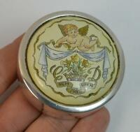 Hallmarked Silver & Ceramic HRH Prince Willian of Wales Pot or Box 65/1500