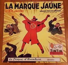 RARE EO E.P. JACOBS BLAKE & MORTIMER DISQUE LA MARQUE JAUNE ( COUVERTURE JAUNE )