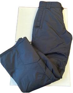 Slalom Womens Black Insulated Ski Snowboard Pants Size XS Small NWT New Pull-on