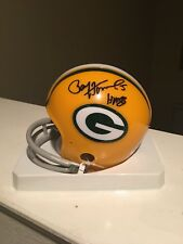 Paul Horning Signed Auto Green Bay Packers Mini Helmet HOF 86 JSA COA #5 NEW NFL