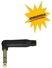 Winkel-Klinkenstecker 6,3mm stereo Amphenol symetrischer Klinkestecker ACPS-RB-