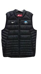 Nike 2018 Olympics Down-Fill Black Puffer Vest Men's Large Rare Only 1 on eBay