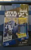 Star Wars The Clone Wars Clone Pilot Goji CW28 Figure  2010 New On Card
