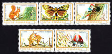 Romania 1983 Mint MNH Fauna of European Protected Areas Complete Stamps Set