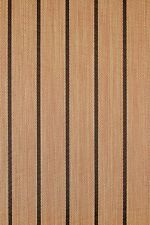Marine Woven Vinyl Boat Flooring w/ Padding : Teak - 04 : 8.5 x 4' : Carpet