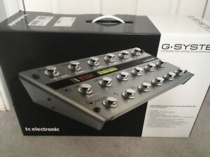 TC Electronic G System Guitar Multi Effects Unit Boxed Mint Condition Used Once