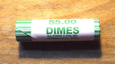 2008-D Uncirculated ROOSEVELT DIME ROLL - Hard To Find - Not Satin Finish