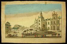 Chez Daumont. Vue perspective de la prison royale de Madrid en Espagne Espana