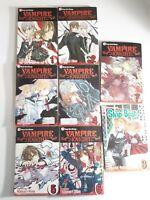 VAMPIRE KNIGHT Shojo Beat Manga Books Graphic Novel Comic Lot Set Vol 1-7
