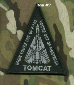 Quand You'Re Sortie Off F-14s - De Combattants Tomcat Abandonné Vêlkrö Ensigne